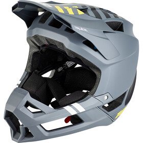 100% Trajecta Helmet charcoal